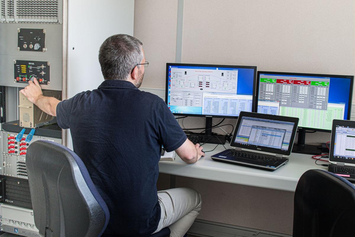 Fuel gauging system - tests