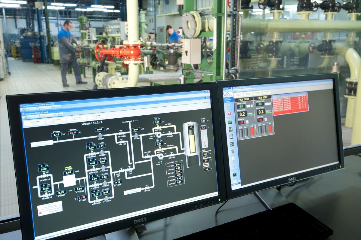 Fuel distribution system - Test rig