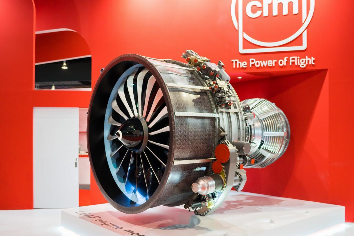 LEAP engine mock-up