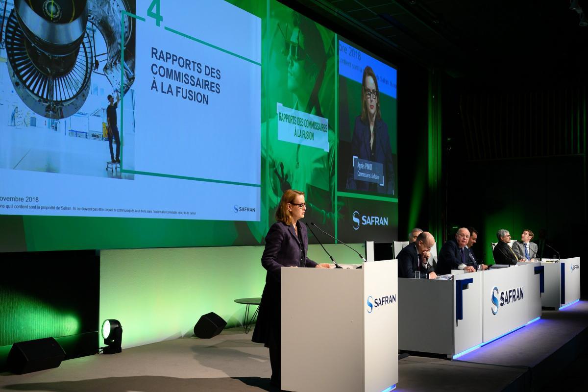 Assemblee generale actionnaires Safran