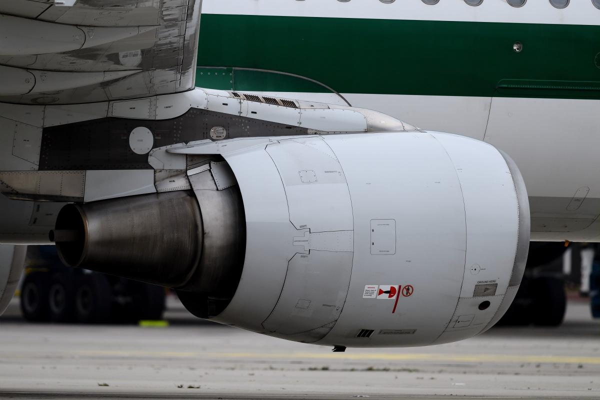Airbus A320-200 powered by CFM56-5B