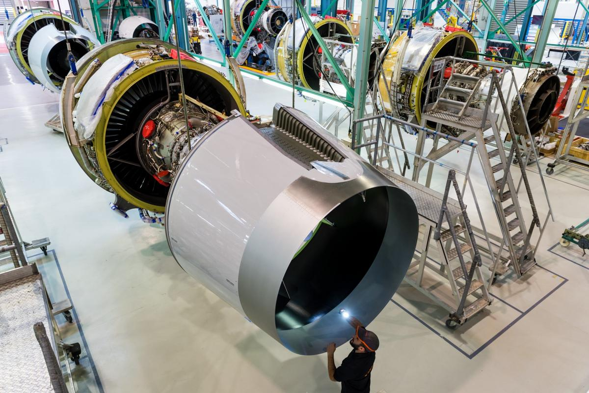Integration lines of Trent 700 nacelles intended for A330