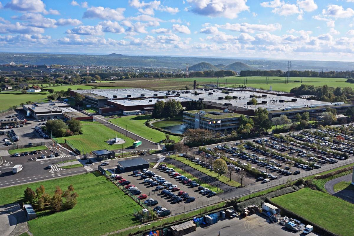 Aerial view of the Milmort site