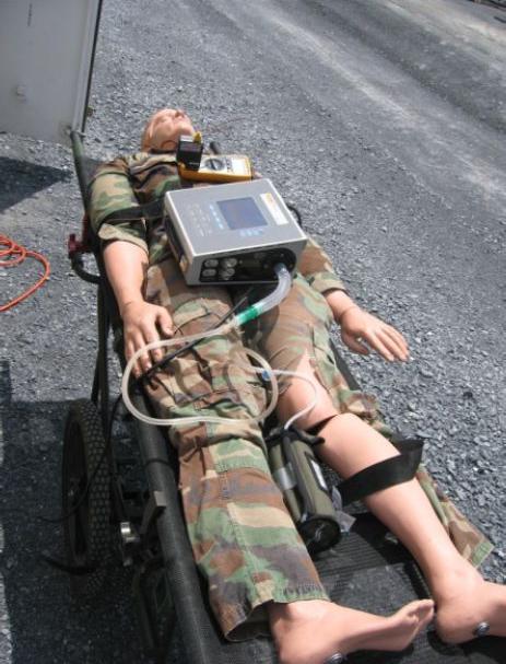 O2PAK Oxygen Systems solution on ground