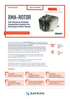 Full Wireless Modular Acquisition System for Helicopter Rotor Heads - XMA-ROTOR