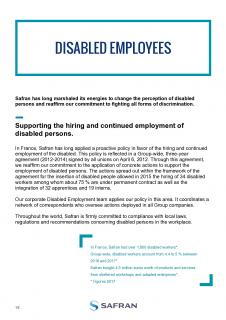 Safran's Disabled Employment Policy