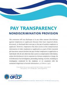 Pay Transparency - Safran USA