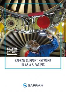 Safran support network in Asia Pacific