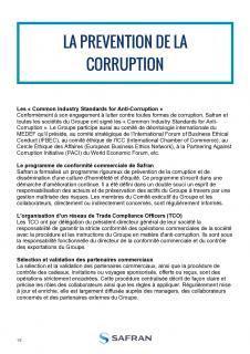 La prévention de la corruption chez Safran