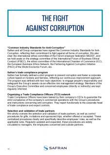 Prevention of corruption at Safran