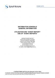 The general information letter - Safran Power Units